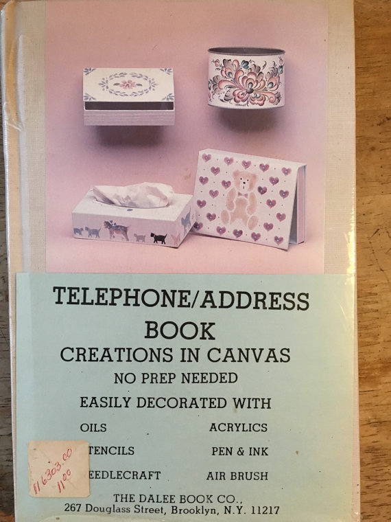 Canvas telephone/Address Book