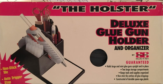 "Original ""The Holster"" Deluxe Glue Gun Hokder and Organizer NEW - Click Image to Close"