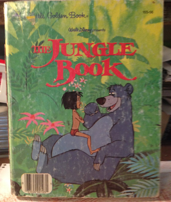 The Jungle Book Little Golden Book Art Journal