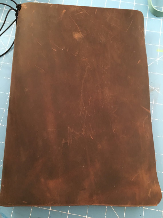 Faux Madori type cover 11.5x17 leather