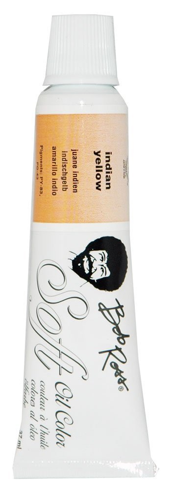 Bob Ross MR6718 37-Ml Soft Artist Oil Color, Indian Yellow