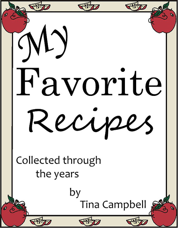 My Favorite Recipes Collected through the years!
